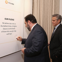 1 100LIVES co founder Ruben Vardanyan with George_Clooney