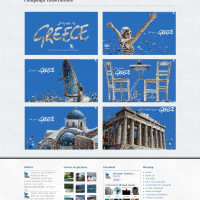 Campaign Illustrations - UP Greek Tourism