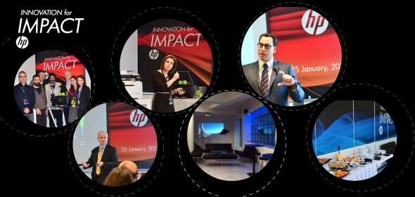 HP Innovation for Impact press event