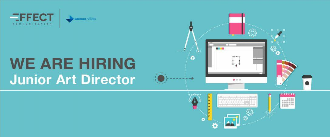 We are hiring: Junior Art Director