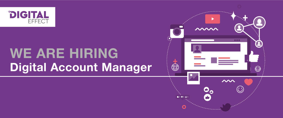We are hiring: Digital Account Manager