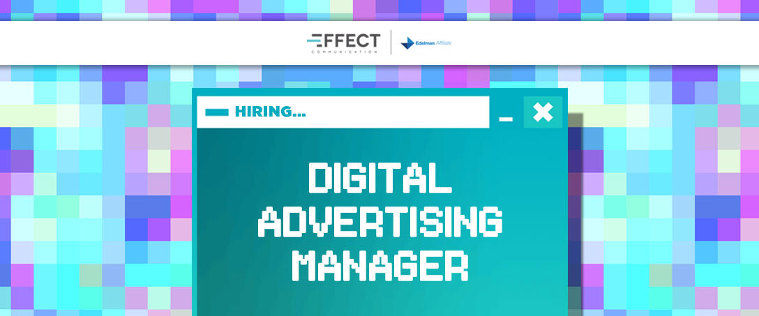 We are hiring: Digital Advertising Manager